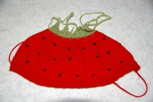4ac00a734e5 Patron tricot bonnet bebe fraise - Idées de tricot gratuit