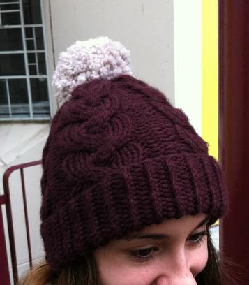 Tricoter un bonnet torsade
