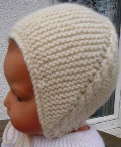 603427e0cb5 Bonnet nouveau né tricot - Idées de tricot gratuit