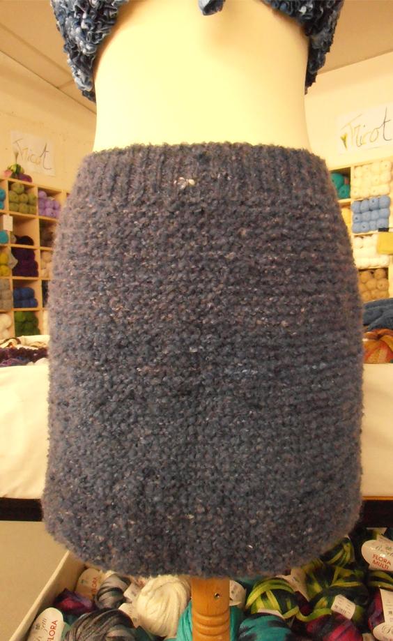 6b54205f523217 Tricoter jupe en laine fille - Idées de tricot gratuit