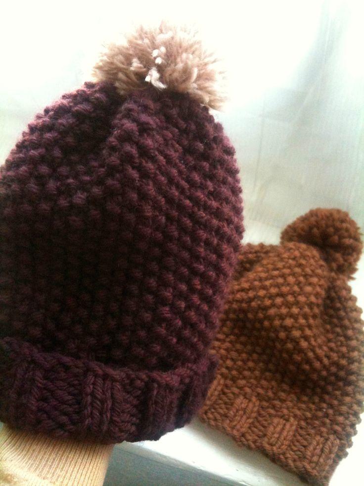 Tricot bonnet mamie - Idées de tricot gratuit