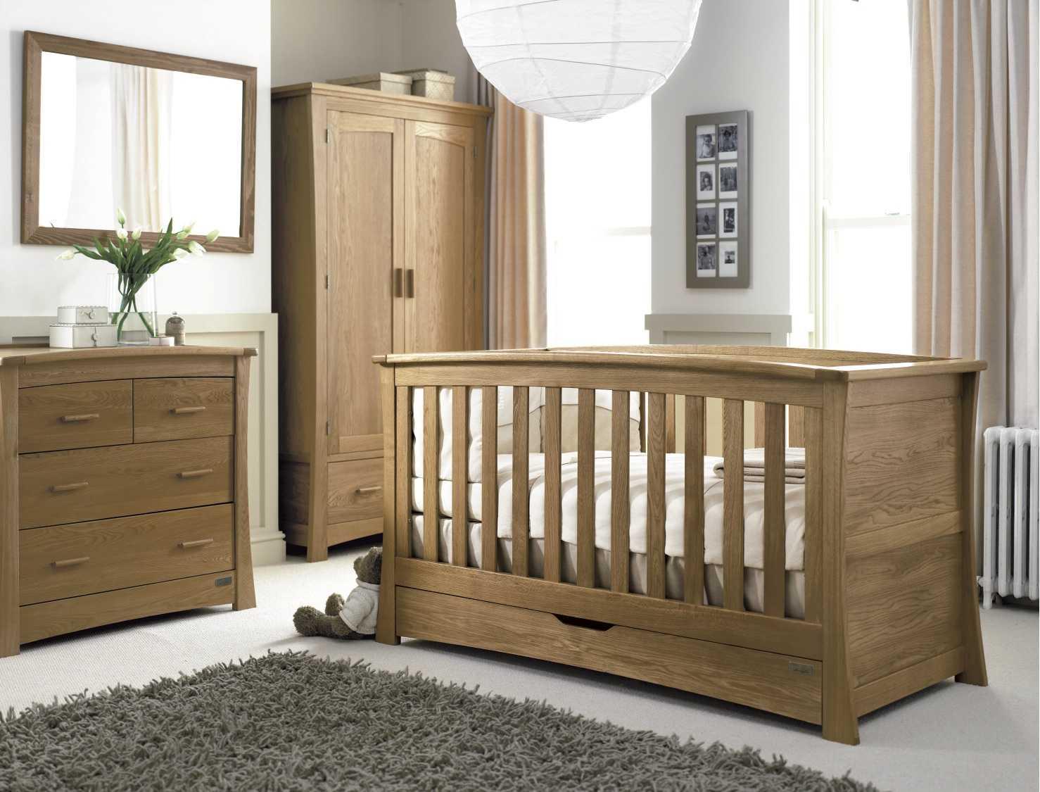 Chambre bébé bois massif - Idées de tricot gratuit