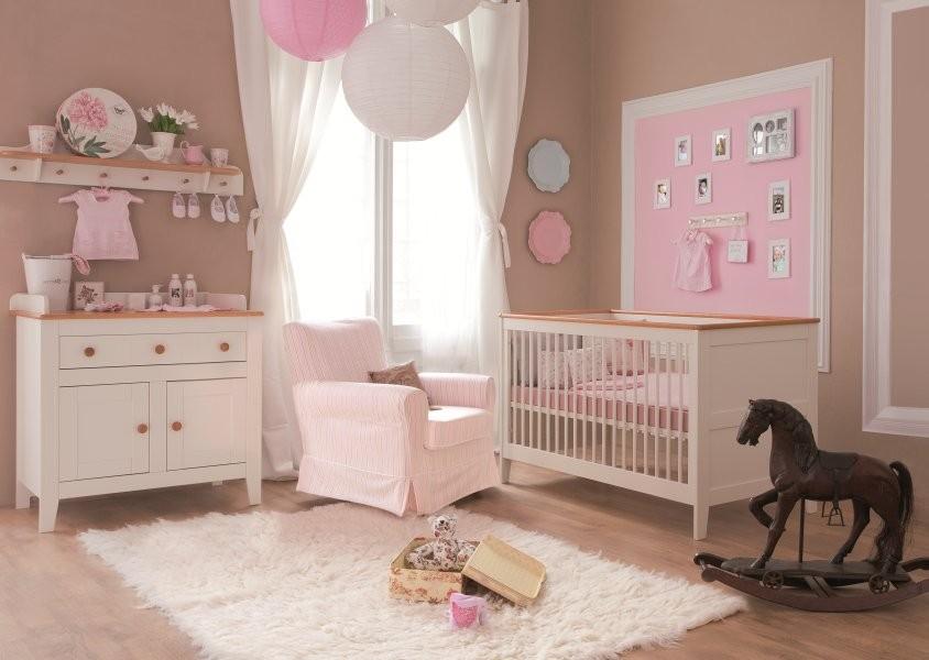 Chambre Bébé Fille Rose Et Taupe Idées De Tricot Gratuit