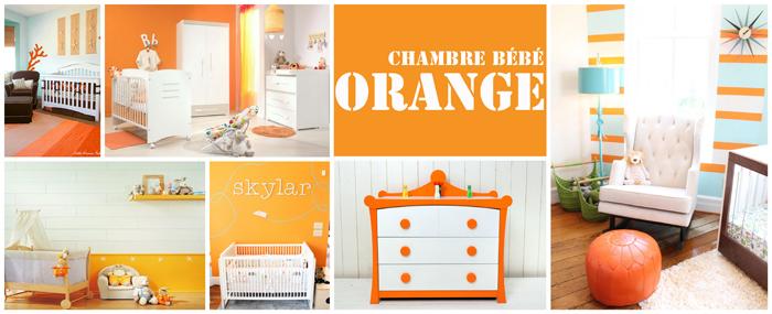 Chambre bébé fille orange - Idées de tricot gratuit