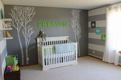 Ambiance chambre bébé garçon - Idées de tricot gratuit