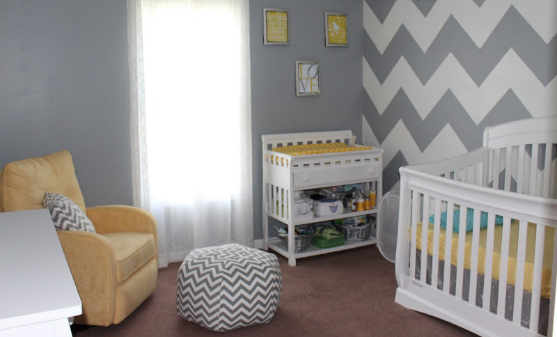 Chambre bebe gris jaune blanc - Idées de tricot gratuit