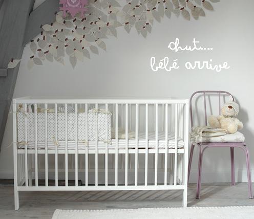 Chambre bébé mixte peinture - Idées de tricot gratuit