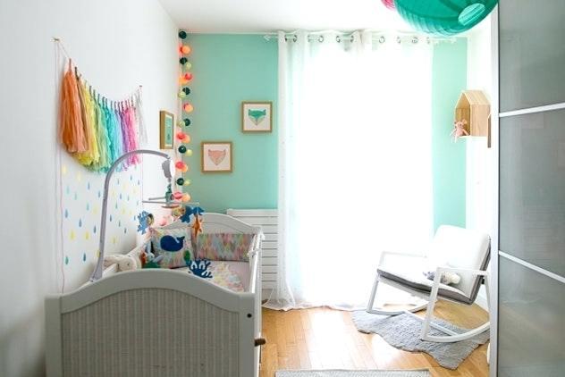 Chambre bébé vert d\'eau - Idées de tricot gratuit
