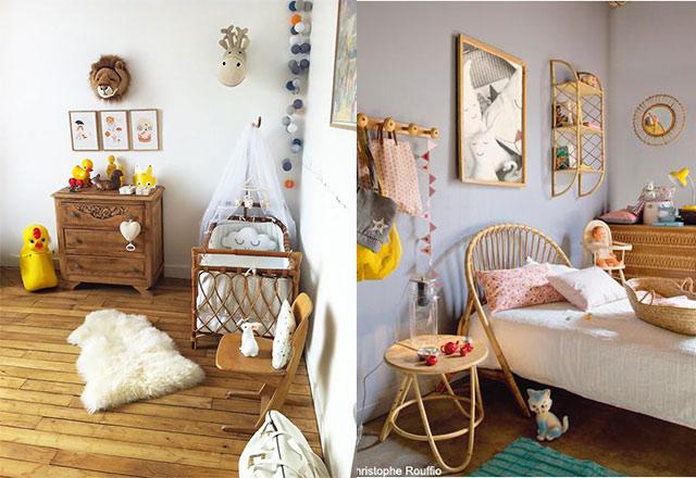 Chambre bébé vintage - Idées de tricot gratuit