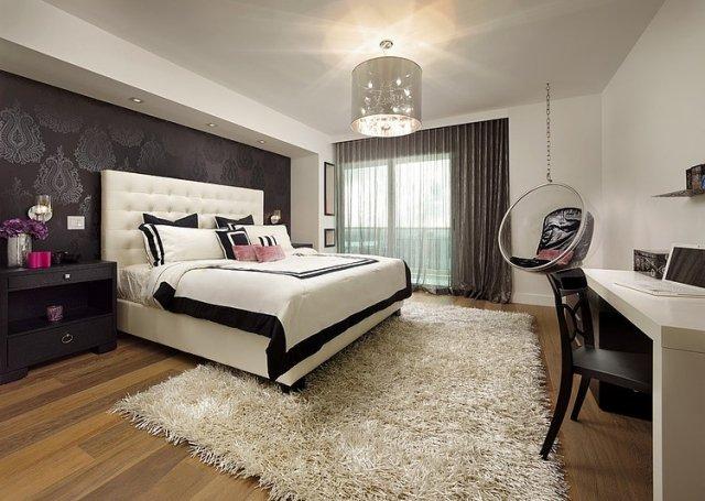 Chambre a coucher decoration murale - Idées de tricot gratuit