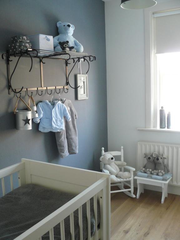 Chambre Bébé Garçon Gris Et Bleu Idées De Tricot Gratuit