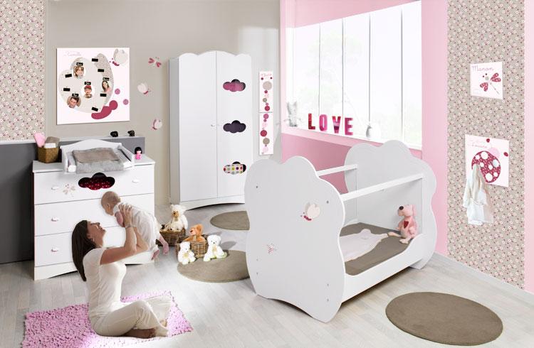 784875af3b22c Chambre Bebe Fille Complete Pas Cher Idées De Tricot Gratuit