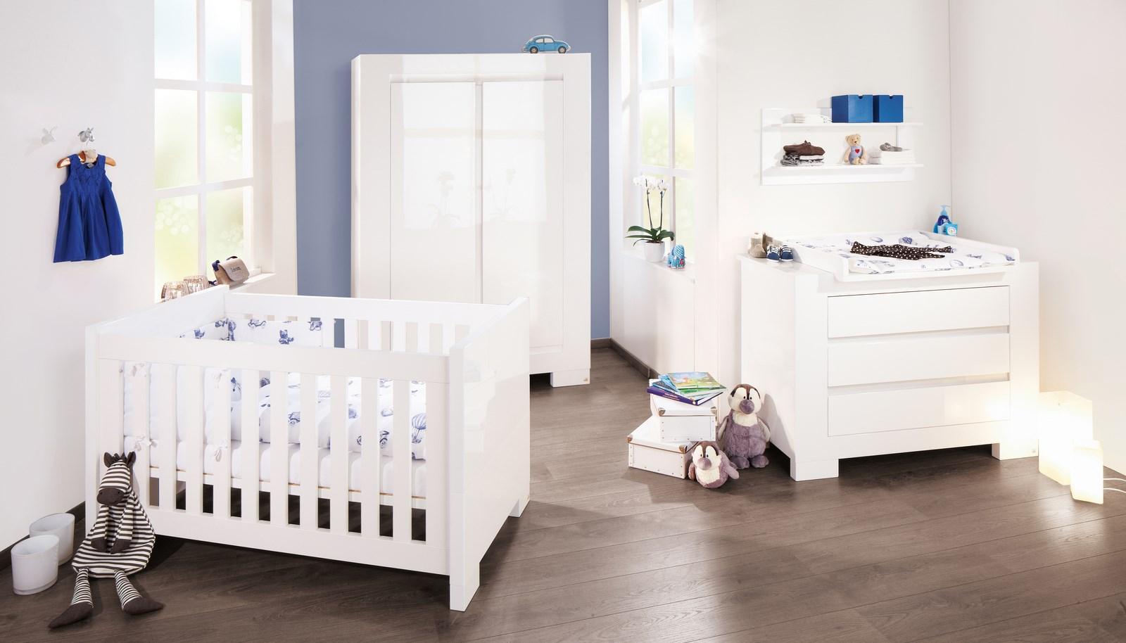 Chambre bébé blanche aubert