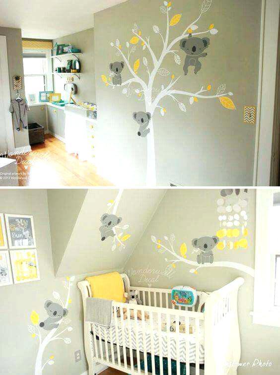 tapisserie chambre b b mixte id es de tricot gratuit. Black Bedroom Furniture Sets. Home Design Ideas