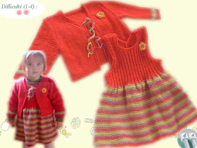 901da54481f22e Tricoter jupe bebe - Idées de tricot gratuit