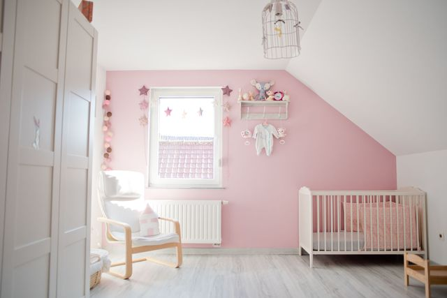 Chambre bébé fille couleur