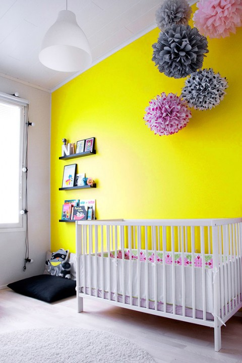Chambre bébé garçon jaune - Idées de tricot gratuit