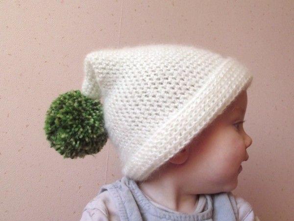 fa5134c25bff Tricoter un bonnet lutin pour bébé - Idées de tricot gratuit