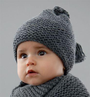 Tricoter un bonnet de bébé - Idées de tricot gratuit d8602f2030d