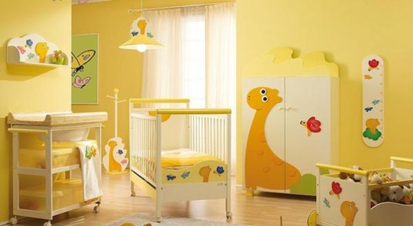 Chambre bebe vert et jaune - Idées de tricot gratuit