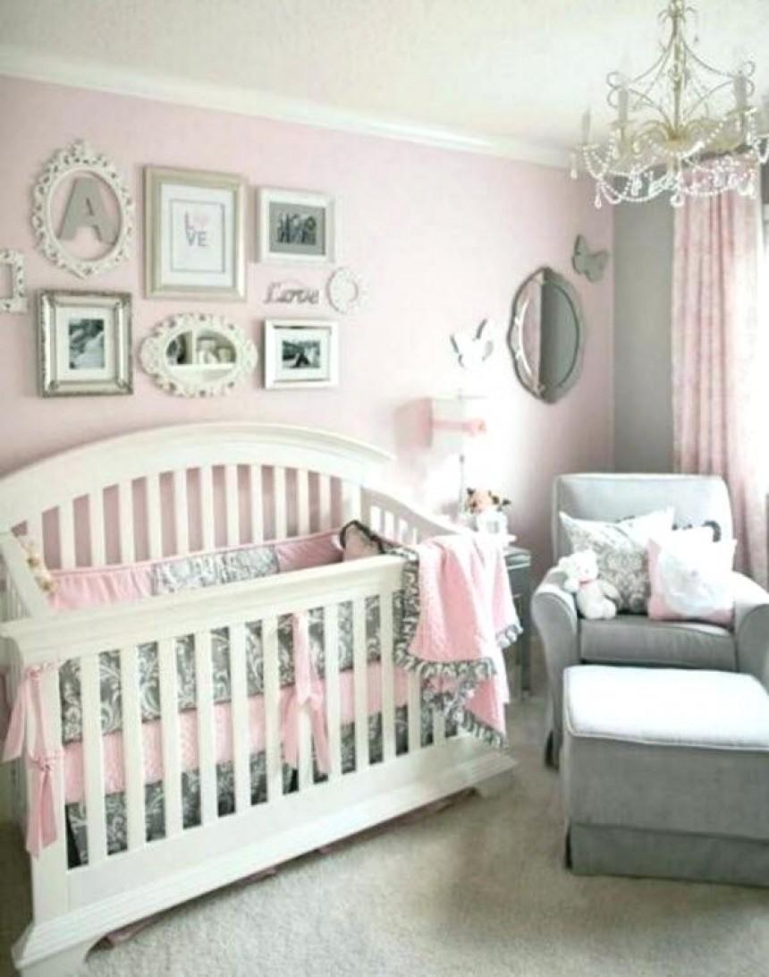 Chambre bébé fille gris et rose - Idées de tricot gratuit