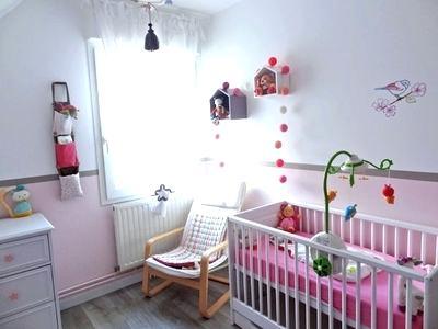 Deco chambre bebe fille gris rose - Idées de tricot gratuit