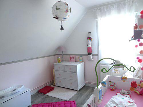 Chambre bébé fille rose et taupe - Idées de tricot gratuit