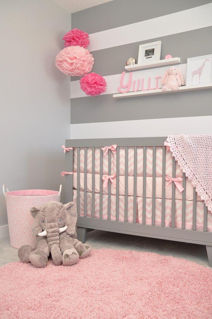 Chambre Bebe Fille Rose Pastel Idees De Tricot Gratuit