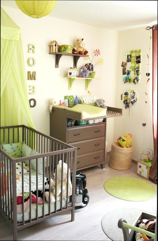 Chambre bébé vert anis - Idées de tricot gratuit