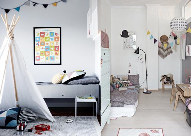 Chambre bebe deco design