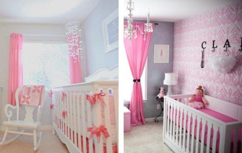 Idee de decoration pour chambre de bebe fille - Idées de tricot gratuit