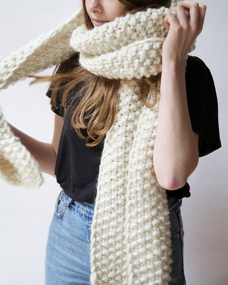 Tricot echarpe xxl - Idées de tricot gratuit 09b4a2efd21