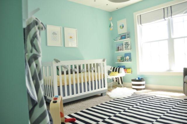 Chambre bébé fille vert d\'eau - Idées de tricot gratuit