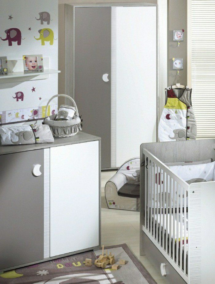 Tableau chambre bébé mixte
