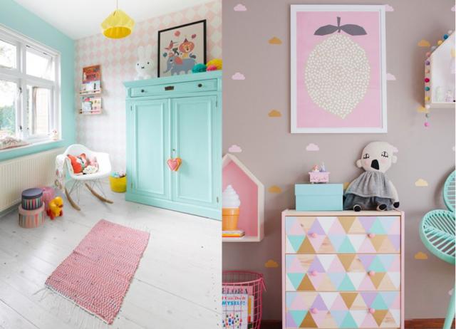 Chambre bebe fille couleur pastel - Idées de tricot gratuit