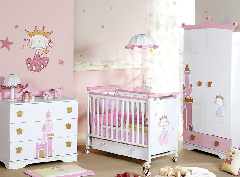 Chambre D Un Bebe Fille Idees De Tricot Gratuit