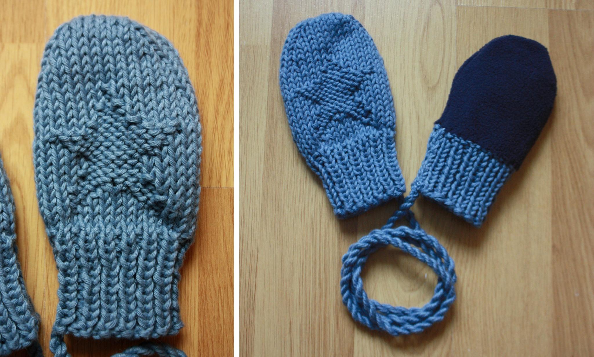 bb62e1c24a37 Tricoter moufles 2 ans - Idées de tricot gratuit
