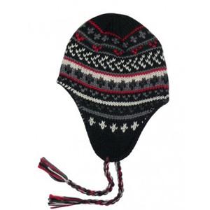 Tricoter un bonnet péruvien femme