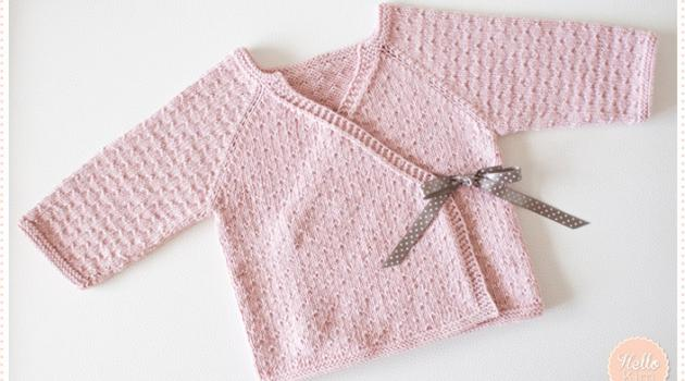Layette fille tricot