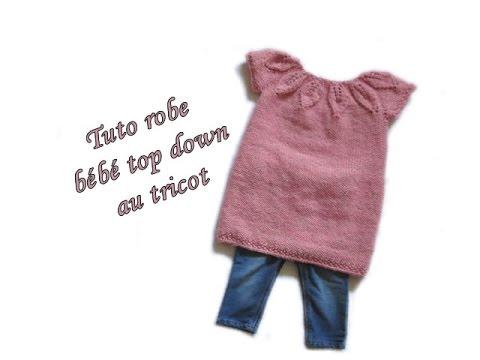 Tuto tricot facile robe