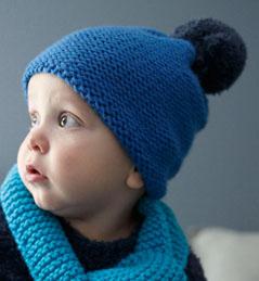 Tricoter un bonnet bébé facile - Idées de tricot gratuit fabfb2c6c95