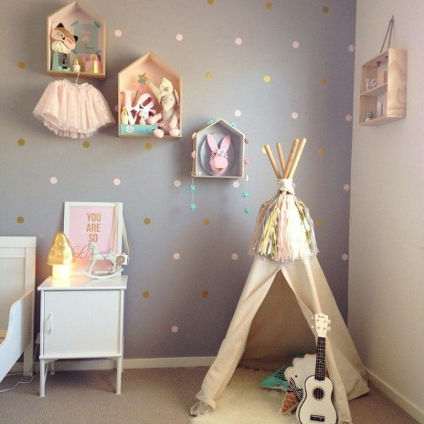 Merveilleux Chambre Bébé Fille Pastel