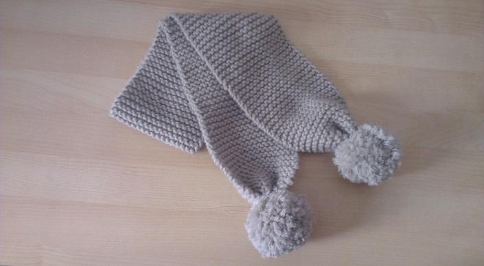 9bef21f7b3f0 Tricot écharpe bébé 2 ans - Idées de tricot gratuit