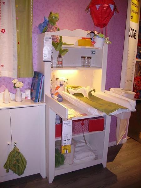 Ikea Chambre Bebe Table A Langer