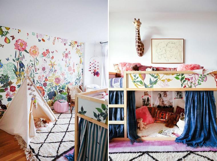 Deco chambre petite fille - Idées de tricot gratuit