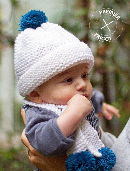 Tricoter un bonnet pour bébé - Idées de tricot gratuit 758f0631b8b