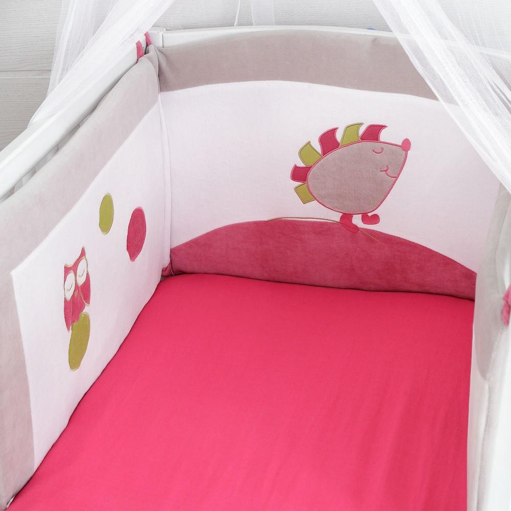 Tour de lit bébé pas cher fille - Idées de tricot gratuit