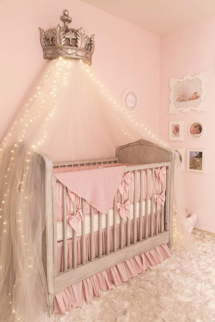 947c809c0b886 Lit bebe fille rose - Idées de tricot gratuit
