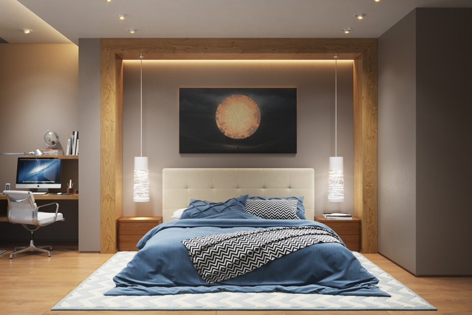 Décoration murale chambre à coucher - Idées de tricot gratuit