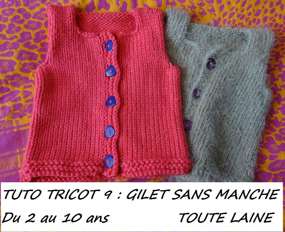ecbf789957940 Patron gilet tricot 4 ans - Idées de tricot gratuit